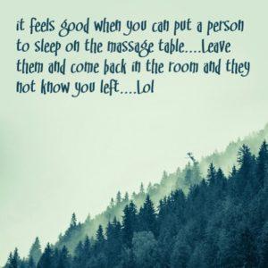 Using Massage Therapy